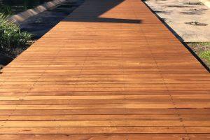 New timber walkway