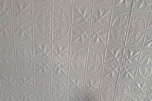 Pressed ceiling refurbishment